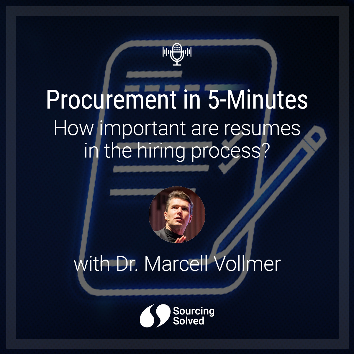 Procurement in 5-Minutes: How important are resumes in the hiring process?