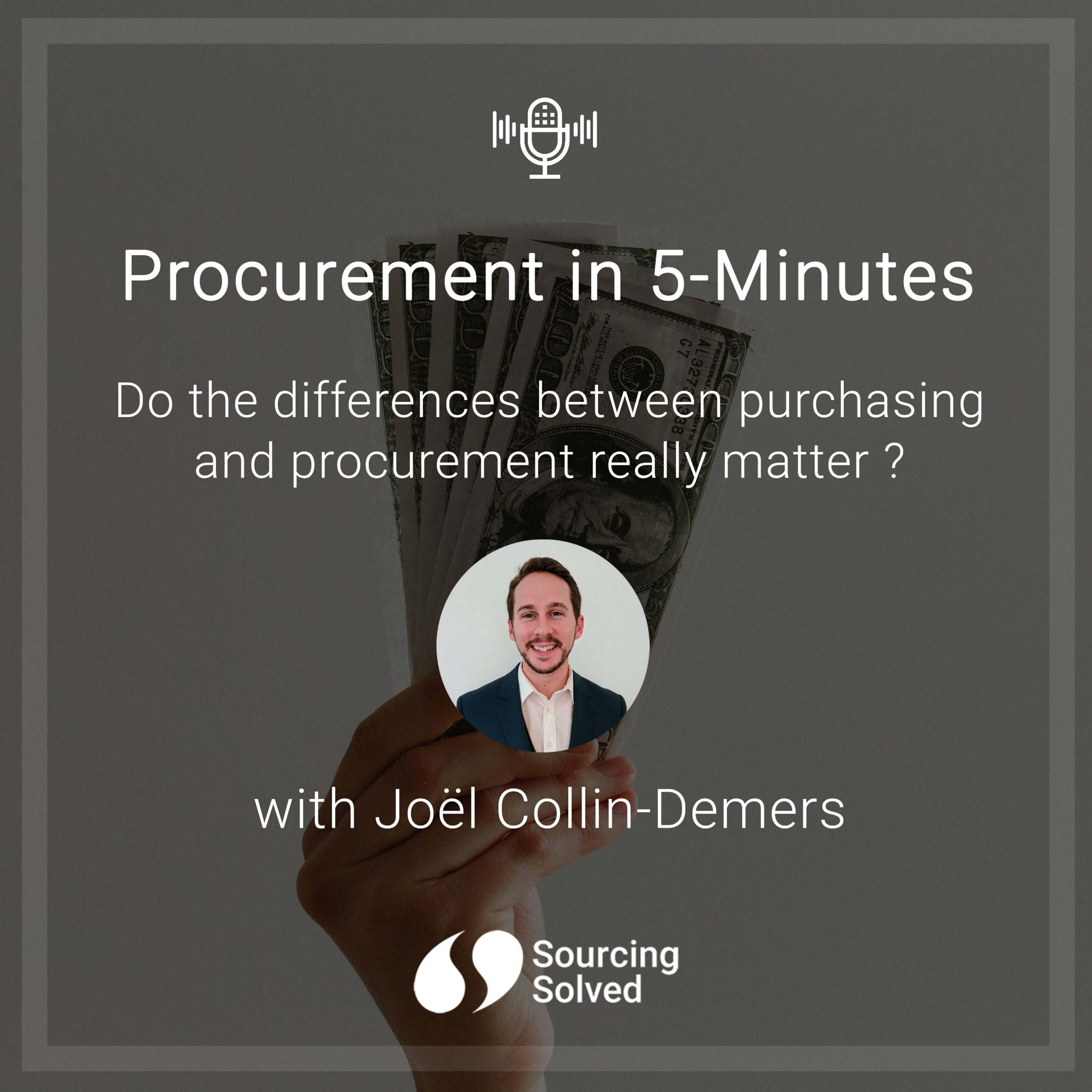 Procurement in 5-Minutes: Do the differences between purchasing and procurement really matter?
